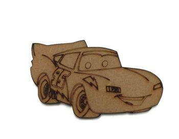 Cars - Lightning McQueen 100mm - 500mm, 4mm Thick