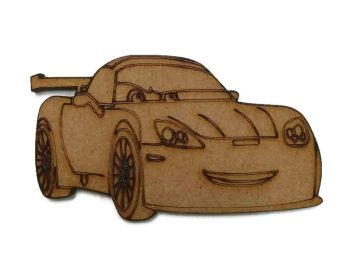 Cars - Sally Carrera 100mm - 500mm, 4mm Thick