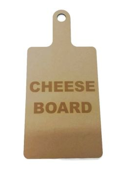 Wooden 6mm Cheese Board