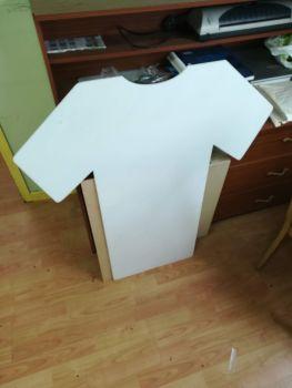Football Jersey Shape White Acrylic Plastic, Wedding Table planner etc