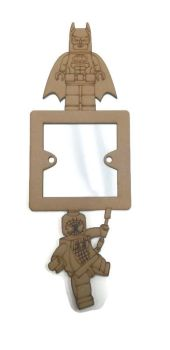 Light Switch Surrounds - Lego Batman and Spiderman