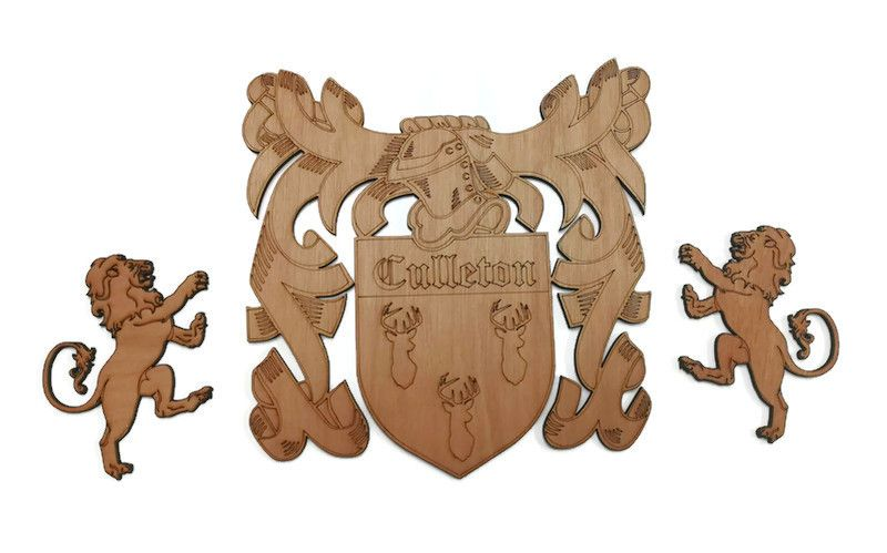Family Crests / Coats Of Arms