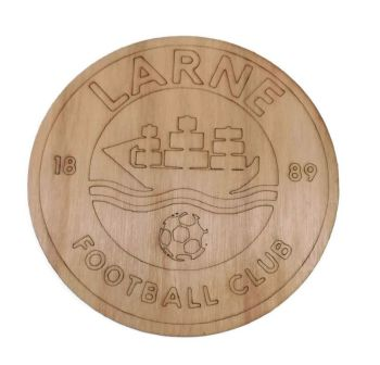 Larne Plywood Football Crest