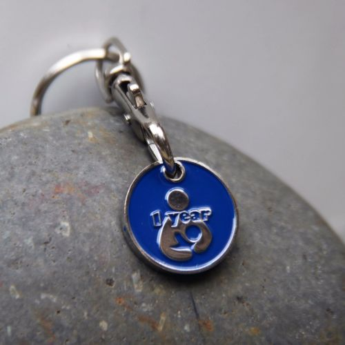 1 year Breastfeeding Milestone Token Keyring