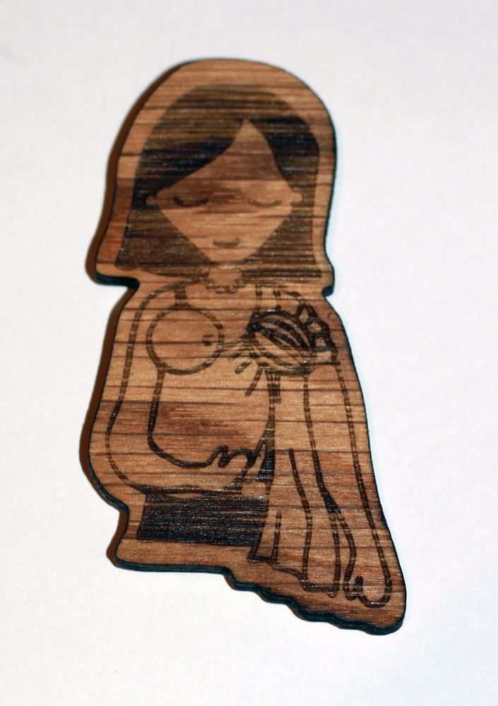 wooden magnet ring sling snuggle