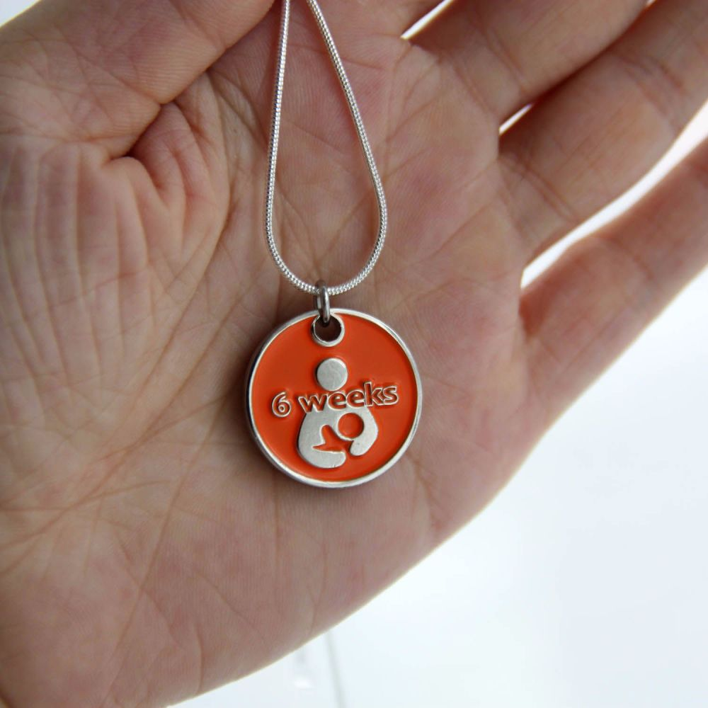 6 Week Token with Silver Necklace