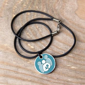 Breastfeeding Supporter Token with Black Cord Necklace