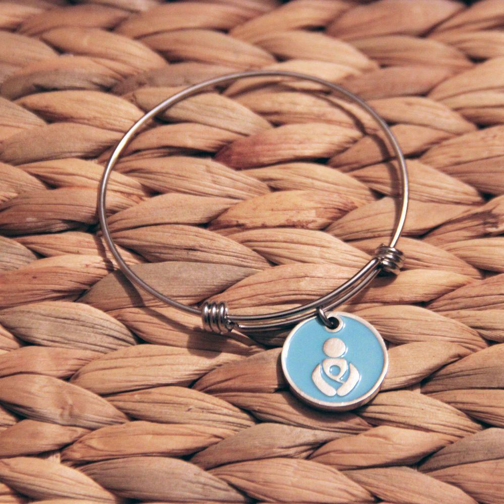 Treble loop bracelet with me&noo token