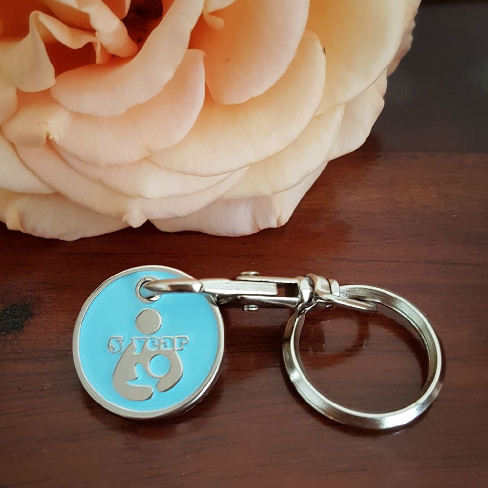 5 year Token Keyring