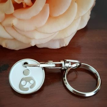 Tandem/Twin Breastfeeding Keyring