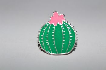 Cactus Lapel Pin Badge No.1