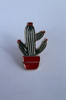 Cactus Lapel Pin Badge No.5