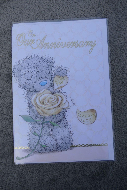 Anniversary Card - Tatty Teddy