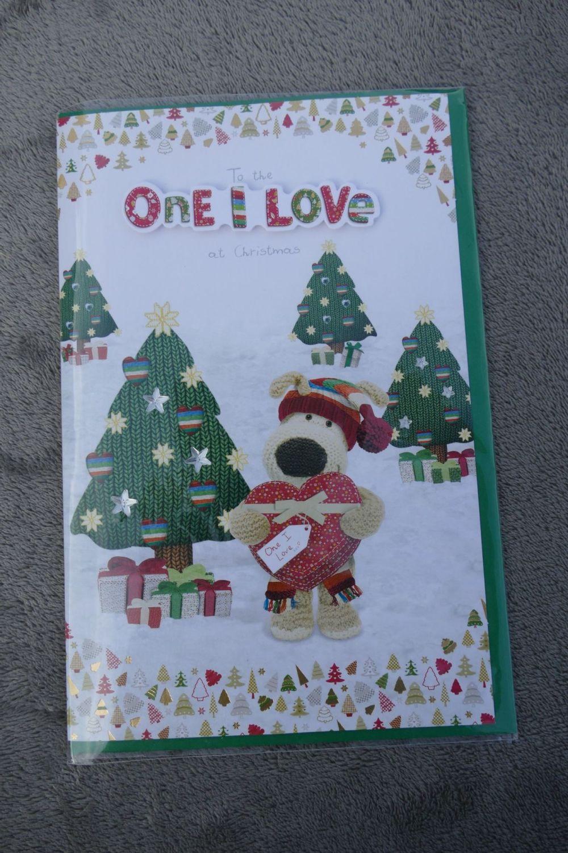 Christmas Card - Boofle