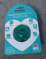 Rosewood Biosafe Puppy Treat Toy Ball - Green
