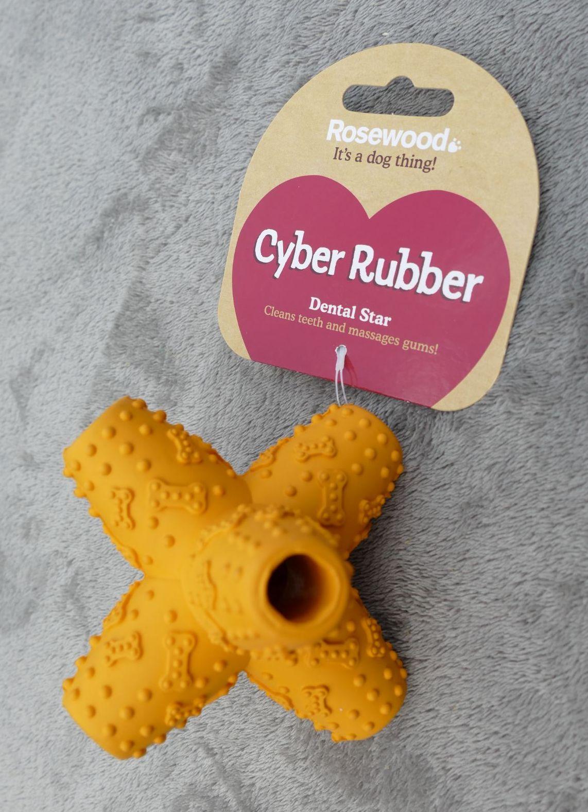 Rosewood Cyber Rubber Dental Star - Orange