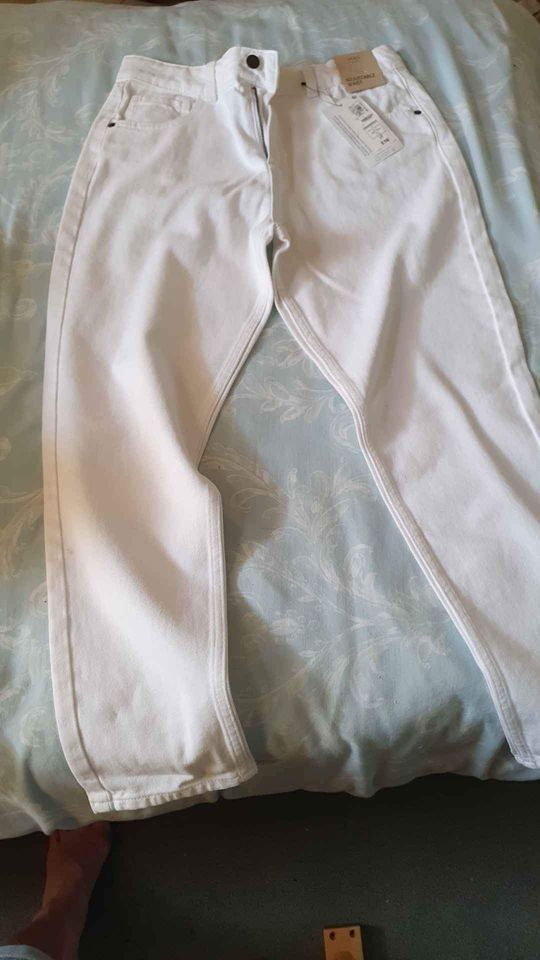 Jeans - White - Size 15 to 16yrs