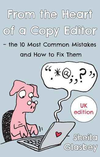 Book cover with an editor pig