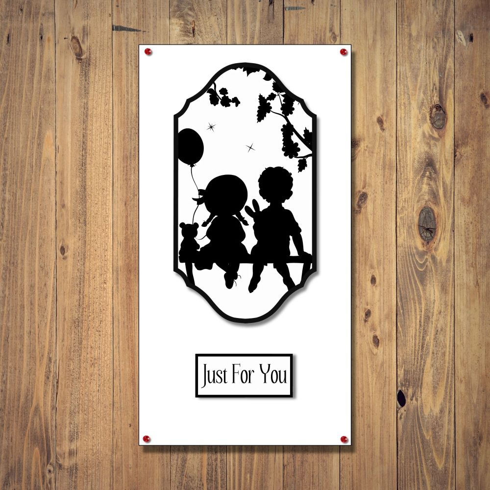 Boy and Girl Any Occasion  Card