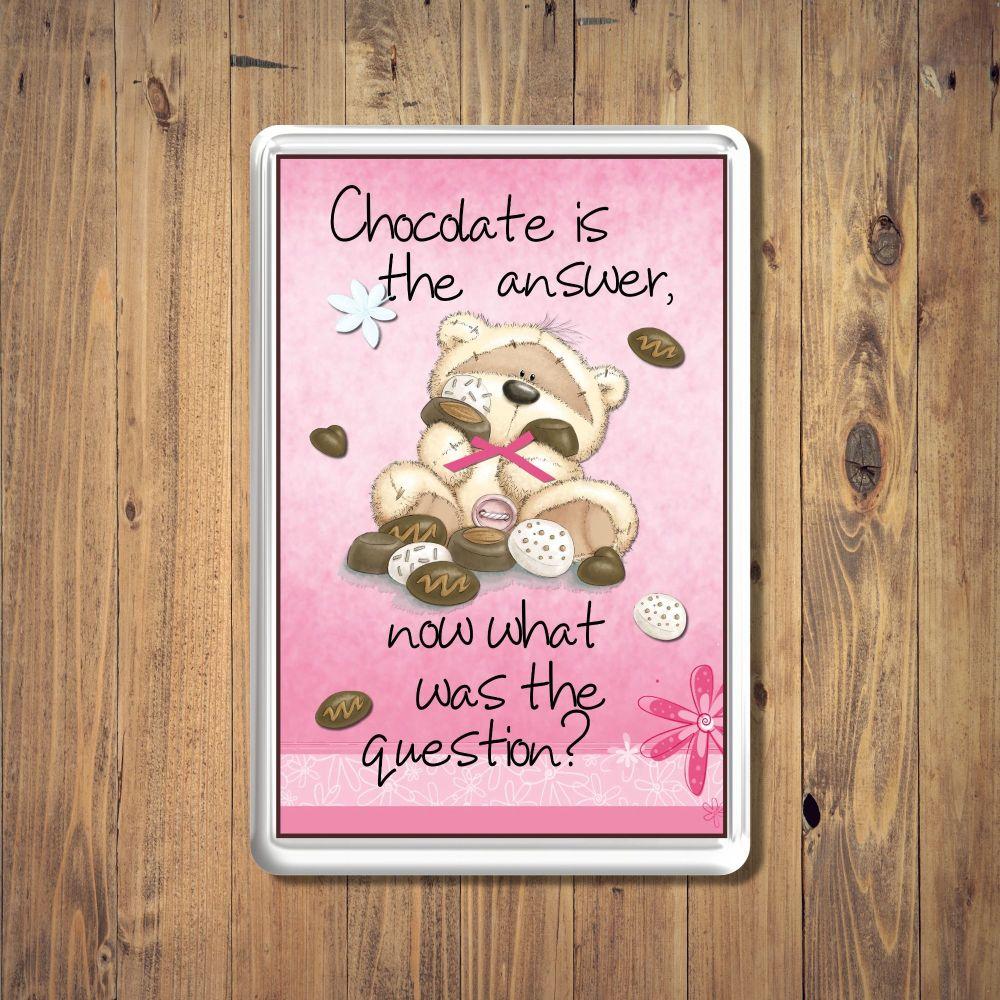 Fizzy Moon Chocolates Fridge Magnet