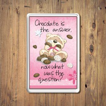 Fizzy Moon Chocolate Fridge Magnet