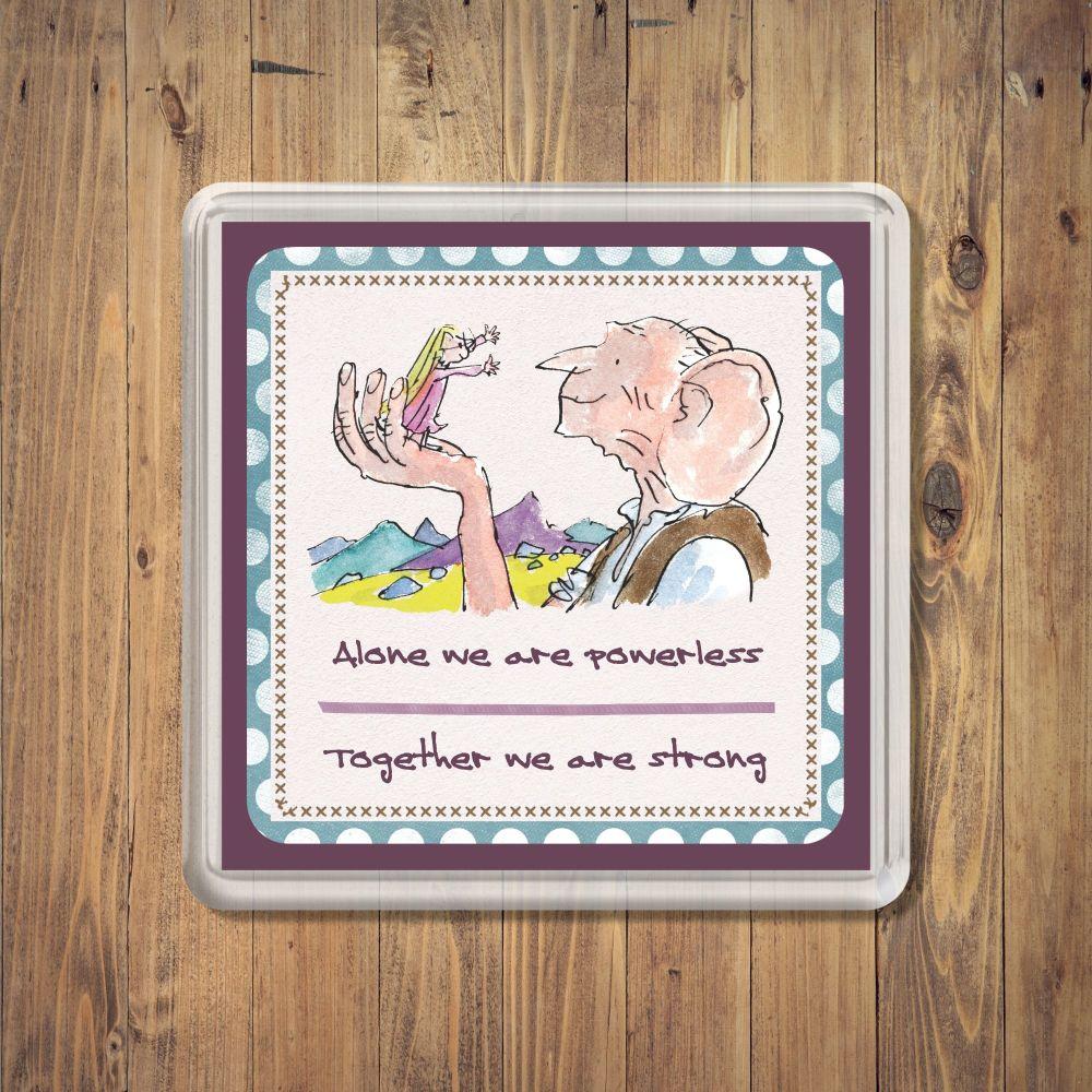Roald Dahl BFG Coaster