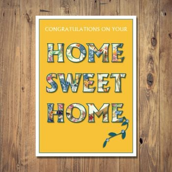 Your Home Sweet Home  New Home Card