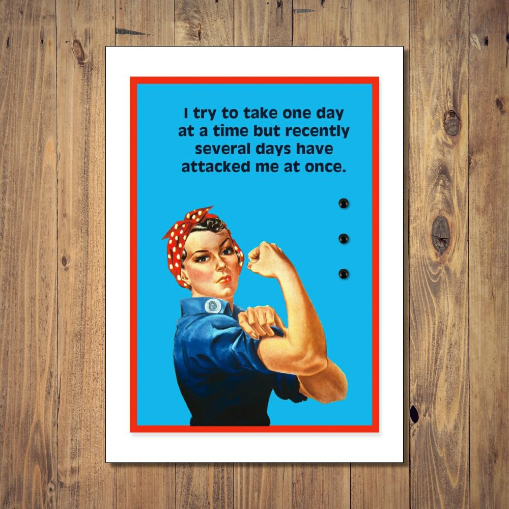 One Day At A Time Any Occasion Card