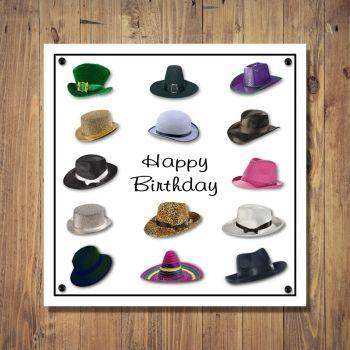 Happy Hats Design Birthday Card
