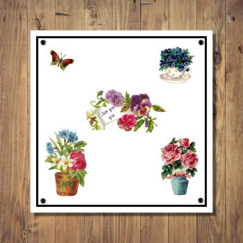 Pretty Flowers & Floral Any Occasion Card