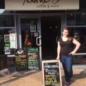 Steph at Asante Coffee Shop - Romsey