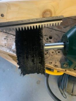 Wheel rake heavy duty