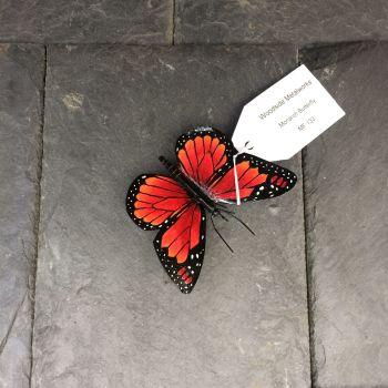 Steel monarch butterfly