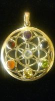Chakra Flower Of Life Pendant was £85.99