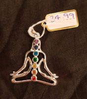 Seated Meditating Chakra Pendant WAS £24.99