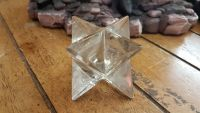 Clear Quartz Merkaba ~ Sacred Geometry