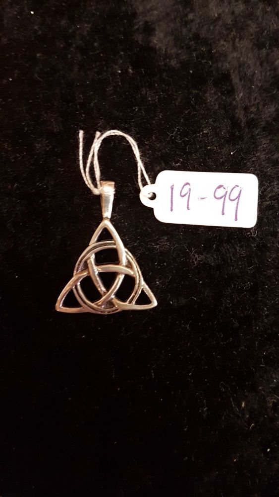 Triquetra Sterling Silver Pendant