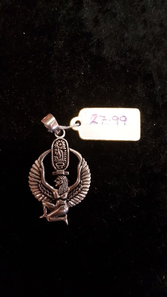 ISIS Sterling Silver Pendant