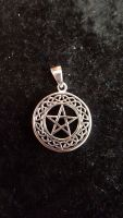 Pentagram Sterling Silver Pendant WAS £27.99