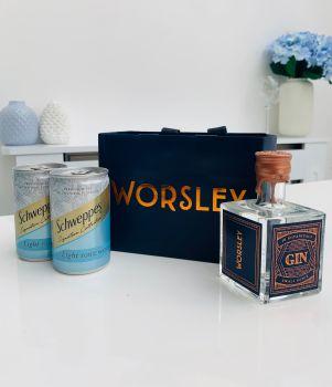 Worsley Gin 10cl Luxury Gin Gift Set
