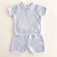 Carter Knitted Shorts Set