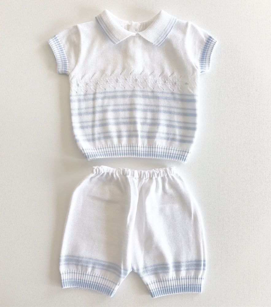 Wyatt Knitted Short Set