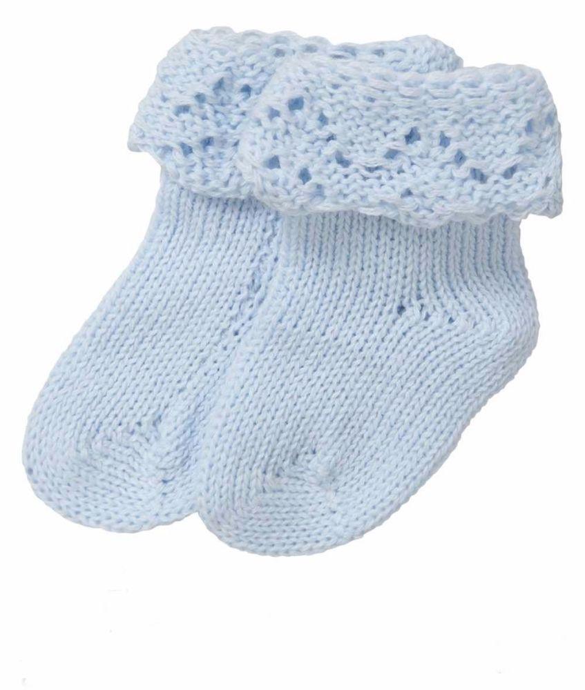 Handmade Pure Cotton Baby Socks