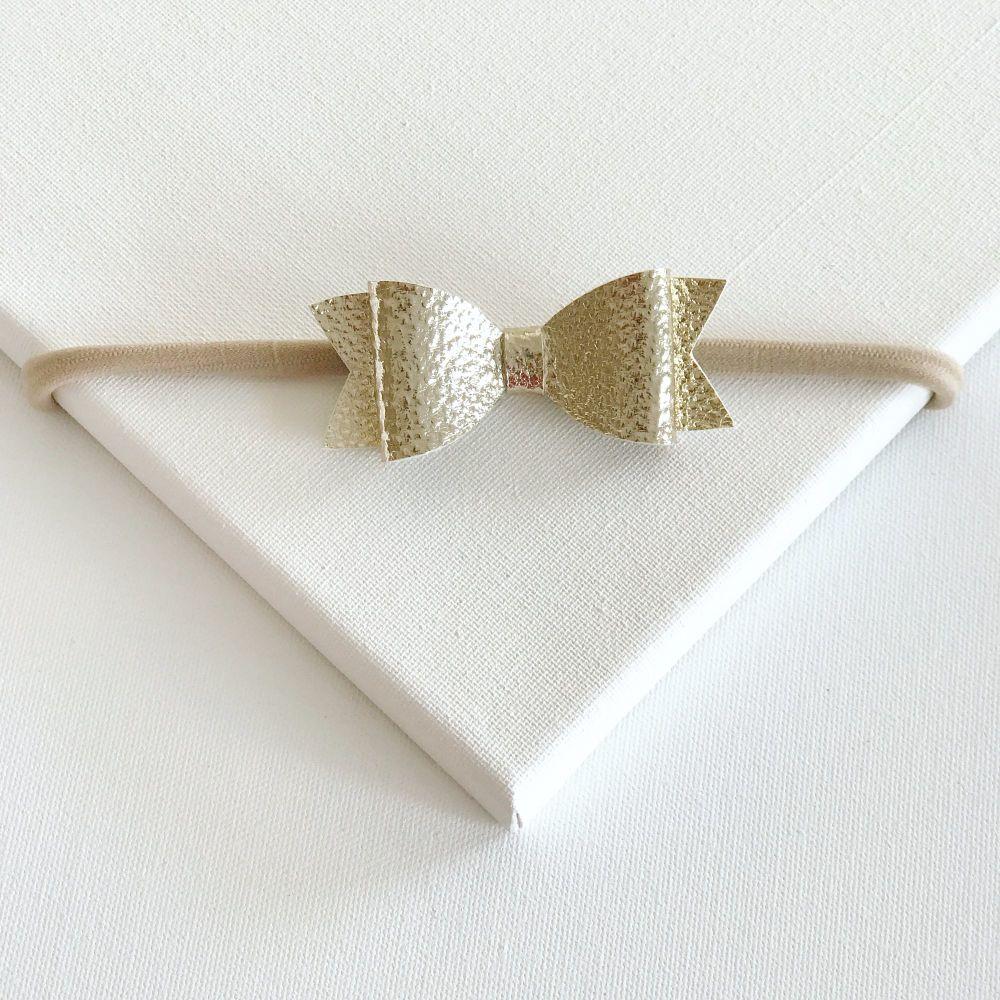 Goldie Bow Headband