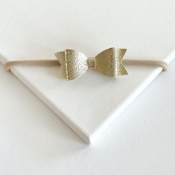 Goldie Bow Headband