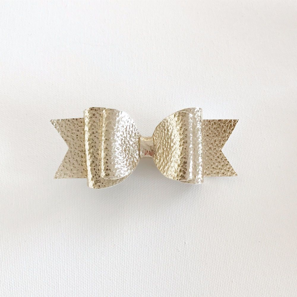 Goldie Double Bow Hair Clip