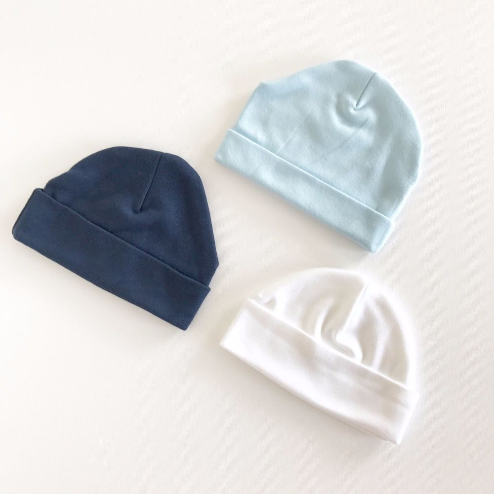 Soft Cotton Beanie Hat