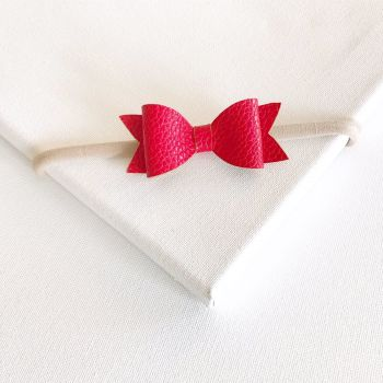 Poppy Bow Headband