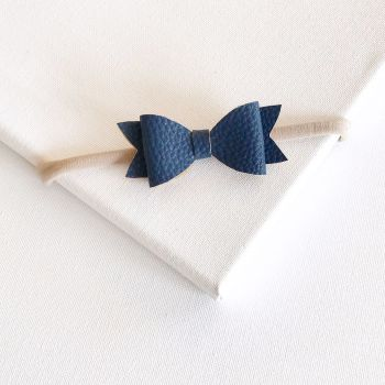 Midnight Bow Headband