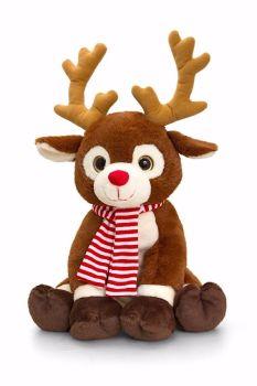 35cm Rudolph Christmas Reindeer - Large